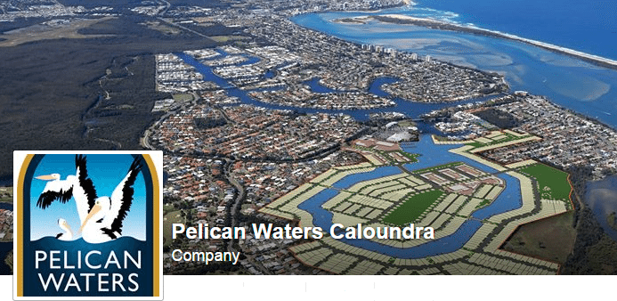 Pelican Waters Header Aerial
