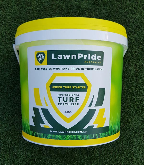 Lawn Pride Under Turf Starter Fertiliser 4kg
