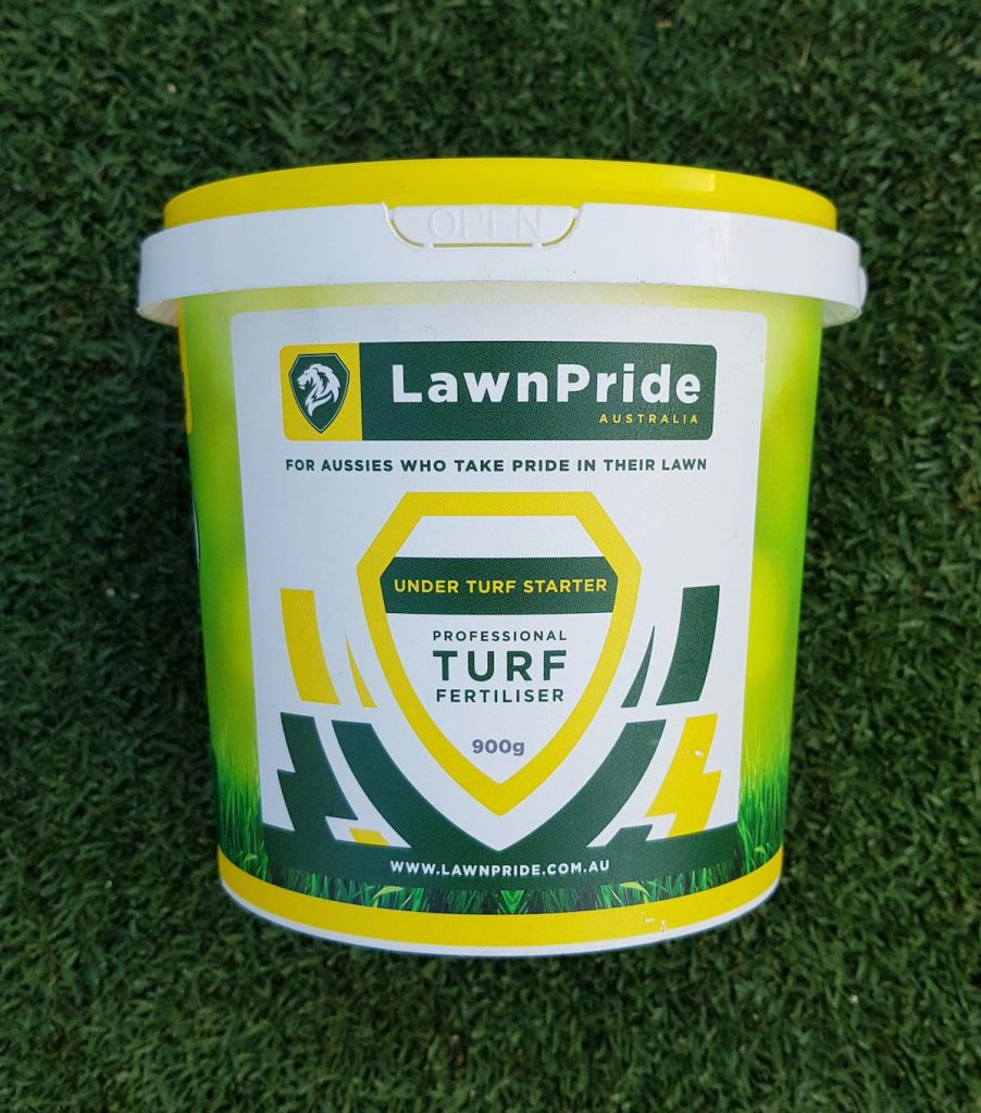 Lawn Pride Under Turf Starter Fertiliser 900g